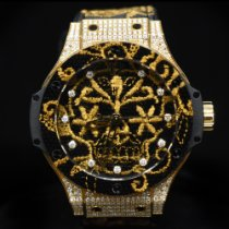 Hublot Big Bang Broderie Yellow gold 41mm Black United States of America, Florida, Aventura