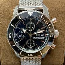 Breitling Superocean Heritage Steel 44mm Black No numerals