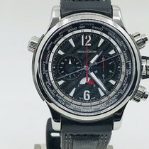 Jaeger-LeCoultre Master Compressor Extreme World Chronograph Steel 46.3mm Black Arabic numerals United States of America, Ohio, Columbus