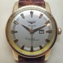 Longines Conquest Gold/Steel 35mm Silver No numerals United States of America, Colorado, 80206
