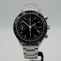 Omega Speedmaster Day Date Steel 39mm Black No numerals United States of America, California, Santa Monica