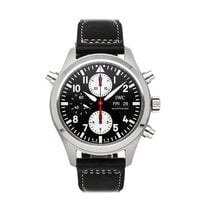 IWC Pilot Double Chronograph IW3718-13 pre-owned