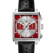 TAG Heuer Monaco ny 2020 Automatisk Kronograf Klokke med original eske og originale dokumenter CBL2114.FC6486