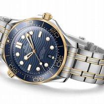 Omega 210.20.42.20.03.001 Or/Acier Seamaster Diver 300 M 42mm nouveau