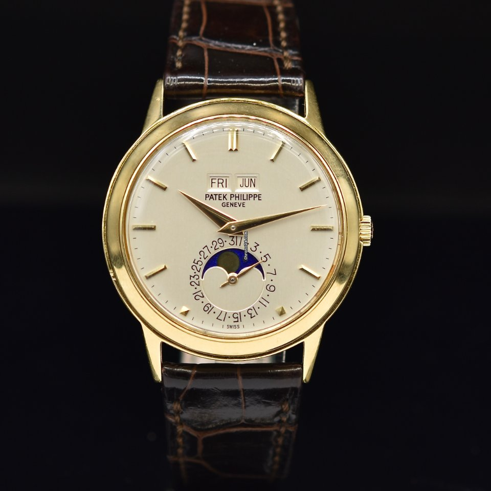 Patek Philippe Perpetual Calendar 3448 1965 pre-owned