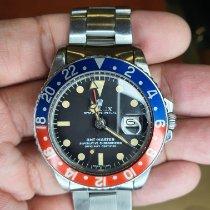 Rolex GMT-Master Steel Black No numerals Singapore, Singapore