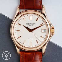 Patek Philippe Red gold Automatic 37mm pre-owned Calatrava