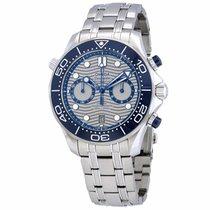 Omega (オメガ) シーマスター ダイバー 300 M 新品 自動巻き クロノグラフ 正規のボックスと正規の書類付属の時計 210.30.44.51.06.001