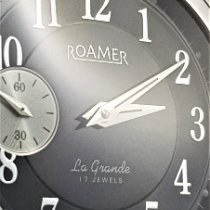 Roamer La Grande Steel 44mm Black No numerals