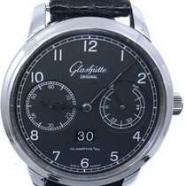 Glashütte Original Senator Observer Steel 44mm Black Arabic numerals United States of America, Florida