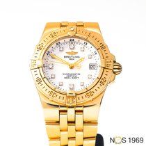 Breitling Starliner Oro amarillo 30mm Madreperla