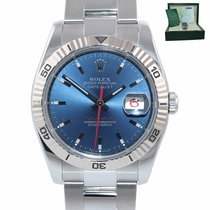 Rolex Datejust Turn-O-Graph Gold/Steel 36mm Blue United States of America, New York, Huntington
