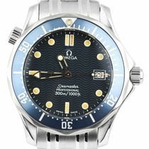 Omega Seamaster Diver 300 M Steel 36mm Blue United States of America, New York, Lynbrook