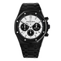 Audemars Piguet Royal Oak Chronograph Acero 41mm Blanco