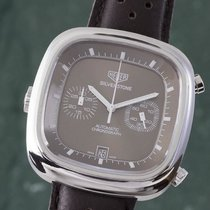 TAG Heuer Silverstone Staal 42mm Bruin