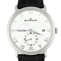 Blancpain Steel Manual winding White Roman numerals 40mm new Villeret Ultra-Slim