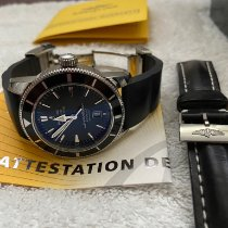 Breitling Superocean Héritage 46 Steel 46mm Black No numerals Canada, Sharon