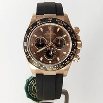 Rolex Daytona Rose gold 40mm Brown No numerals