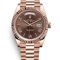 Rolex 228235 Rose gold Day-Date 40 40mm pre-owned