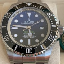 Rolex Sea-Dweller Deepsea Steel 44mm Blue No numerals United States of America, New Jersey, Edgewater