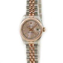 Rolex Pозовое золото Автоподзавод Розовый подержанные Lady-Datejust