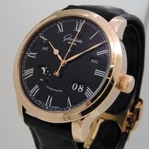 Glashütte Original Senator Perpetual Calendar Rose gold 42mm Black Roman numerals United States of America, California, Los Angeles