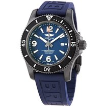 Breitling Steel Automatic Blue Arabic numerals 46mm new Superocean
