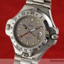 Sinn 6000 Stahl 42mm Silber Deutschland, Chemnitz
