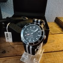 Alpina Plástico Cuarzo Negro Sin cifras 44mm usados