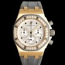 Audemars Piguet Yellow gold Royal Oak Offshore Chronograph 37mm pre-owned