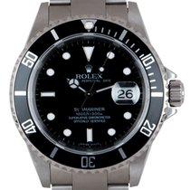 Rolex Submariner Date 16610T 2002 подержанные