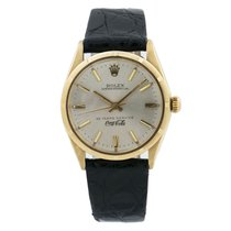Rolex Oyster Perpetual 34 Yellow gold 34mm Silver United States of America, New York, New York