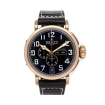 Zenith Pilot Type 20 Annual Calendar Rose gold 48mm Black United States of America, Pennsylvania, Bala Cynwyd
