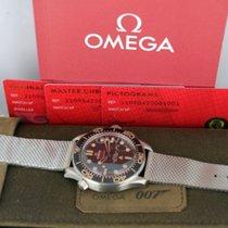 Omega Seamaster Diver 300 M Titanium 42mm Black No numerals