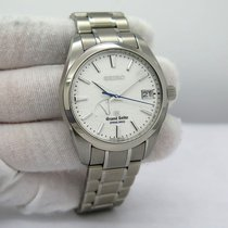 Seiko Titanium Automatic White pre-owned Grand Seiko