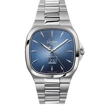 Glashütte Original Seventies Panorama Date Steel 40mm Blue No numerals United Kingdom, London