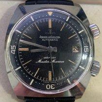 Jaeger-LeCoultre Deep Sea Chronograph Steel 36mm Black No numerals