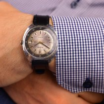 Vostok pre-owned Manual winding 38mm Silver Plexiglass Not water resistant