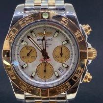 Breitling Chronomat 41 Goud/Staal 41mm Parelmoer Geen cijfers