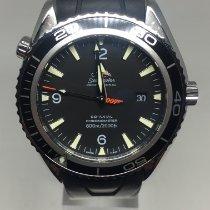 Omega Seamaster Planet Ocean Acier 45,5mm Noir Arabes Belgique, koksijde