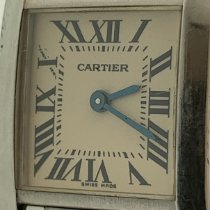 Cartier Tank Française Steel 25mm White Roman numerals United States of America, New Jersey, Fair Lawn