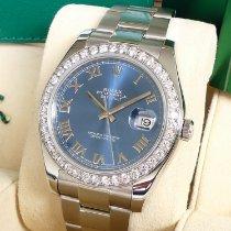 Rolex Datejust II Stahl 41mm Blau Römisch Deutschland, Köln