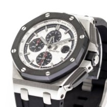 Audemars Piguet Royal Oak Offshore Chronograph Steel 44mm Silver No numerals United States of America, Georgia, Atlanta