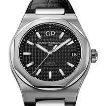 Girard Perregaux Laureato Steel Black