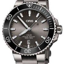 Oris 01 733 7730 7153-07 8 24 15PEB Titanium 2020 Aquis Titanium Date 44mm new