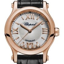 Chopard Happy Sport 274893-5011 Ny Rosa guld 30mm Automatisk