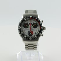 TAG Heuer Formula 1 pre-owned 38mm White Date Steel