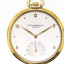 Patek Philippe Watch pre-owned 1950 Yellow gold Arabic numerals Watch only