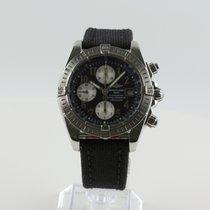 Breitling Chronomat Evolution Steel 44mm Black No numerals United States of America, Colorado, Denver