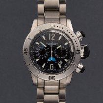 Jaeger-LeCoultre Master Compressor Diving Chronograph Acero 44mm Negro Arábigos